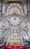 Fatih Mosque in district of Istanbul, Turkey Royalty Free Stock Photos
