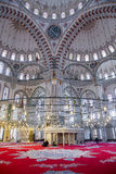 Fatih Mosque in district of Istanbul, Turkey Stock Photography