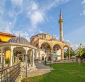 Fatih Mosque em Pristina imagem de stock