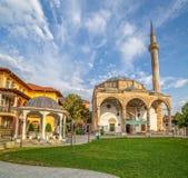 Fatih Mosque em Pristina foto de stock royalty free