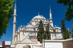 Fatih Mosque i Istanbul, Turkiet Royaltyfri Fotografi