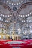 Fatih Mosque i område av Istanbul, Turkiet Arkivbild