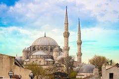 Fatih Mosque Istanbul fotografering för bildbyråer