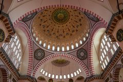 The Fatih Mosque in Istanbul, Turkey. stock photo