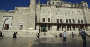 Fatih Mosque Istanbul Turkey stock video
