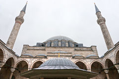 The Fatih Mosque, Istanbul, Turkey Royalty Free Stock Image