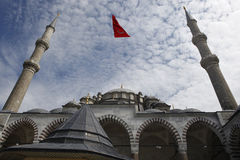 Fatih Mosque in Istanbul,Turkey Royalty Free Stock Photo