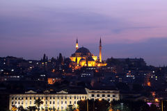 Fatih Mosque Royalty Free Stock Photography