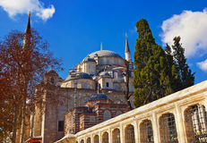 Fatih mosque in Istanbul Turkey Royalty Free Stock Photos