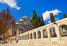 Fatih mosque in Istanbul Turkey Royalty Free Stock Photography