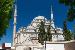 The Fatih Mosque in Istanbul, Turkey Royalty Free Stock Photography