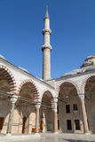 Fatih Mosque-Minarett Lizenzfreies Stockfoto