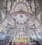 Fatih Mosque no distrito de Istambul, Turquia Imagens de Stock