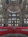 Fatih Mosque, a public Ottoman mosque in the Fatih district of Istanbul, Turkey Stock Photo