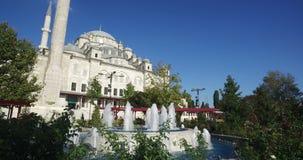 Fatih Mosque und gründet Istanbul die Türkei stock video