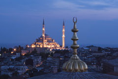 Fatih mosque Royalty Free Stock Image