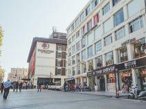 Fatih shopping mall neighbourhood in Istanbul. Stock Photo