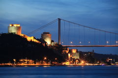 Fatih Sultan Mehmed Bridge Royalty Free Stock Image