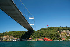 Fatih Sultan Mehmed Bridge Stock Images