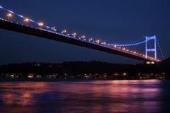 Fatih Sultan-Mehmet-Brücke Lizenzfreie Stockbilder