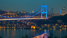 Fatih Sultan Mehmet Bridge 3 Stock Image