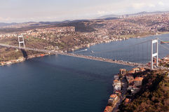 Fatih Sultan Mehmet Bridge Stockbild