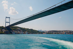 Fatih Sultan Mehmet Bridge Royalty Free Stock Photo