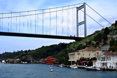 The Fatih Sultan Mehmet Bridge Stock Photos