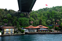 The Fatih Sultan Mehmet Bridge Royalty Free Stock Photography