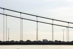 Fatih Sultan Mehmet Bridge, Istanbul Stock Photography