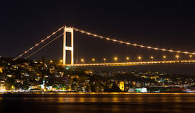 Fatih Sultan Mehmet Bridge Stock Image