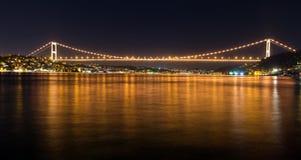 Fatih Sultan Mehmet Bridge Royalty Free Stock Photography