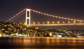 Fatih Sultan Mehmet Bridge Stock Photography