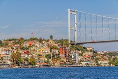 Fatih Sultan Mehmet Bridge Stock Photos