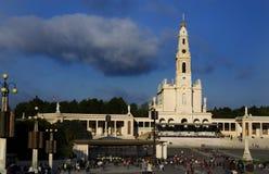 Fatima圣所 免版税库存照片