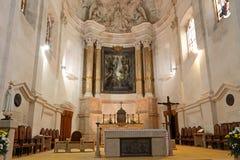 Fatima altar Stock Photo