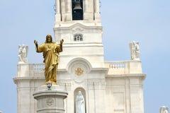Fatima Basilica Στοκ φωτογραφία με δικαίωμα ελεύθερης χρήσης