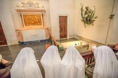 Fatima gravar av herdar Royaltyfri Bild