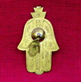 Fatima hand. Amulet from Middle East and North Africa Royalty Free Stock Photos
