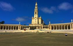 Fatima jest jeden znacz?co katolickie ?wi?tynie obrazy royalty free