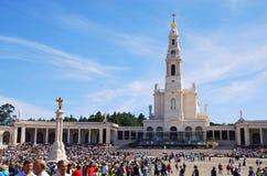 Fatima Sanctuary, Πορτογαλία Στοκ Εικόνες