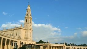 The Fatima Sanctuary, Portugal stock video