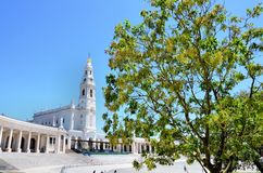 Fatima shrine Royalty Free Stock Photos