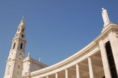 Fatima Shrine Στοκ εικόνα με δικαίωμα ελεύθερης χρήσης