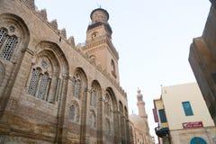 Fatimid的开罗,埃及清真寺 免版税库存照片