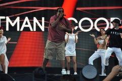 Fatman Scoop live concert Stock Images