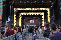 Fatman Scoop live concert Stock Photos