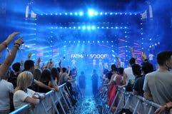 Fatman Scoop-Livekonzert Lizenzfreies Stockbild