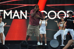 Fatman Scoop-Livekonzert Stockbilder
