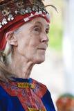 Fato desgastando do Dr. Jane Goodall Aborígene Fotografia de Stock